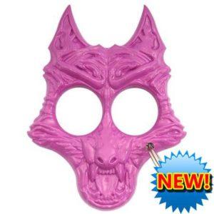 Panther Brands – Pink Werewolf Keychain